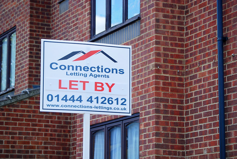 An image of our To Let Board.
