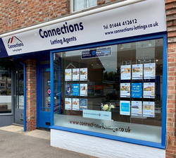 Connections Letting Agents Office