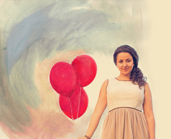 Red Balloons - Melody Loria