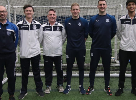 Training sessions run by Tranmere Coaches