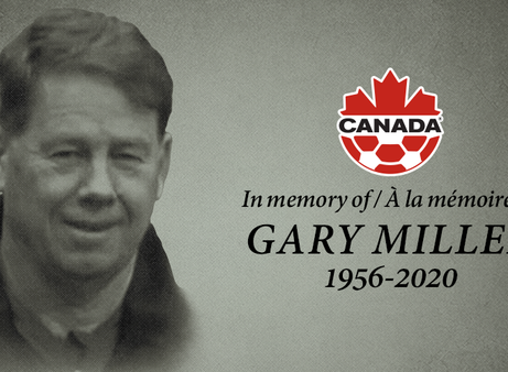 Canada Soccer mourns passing of Gary Miller