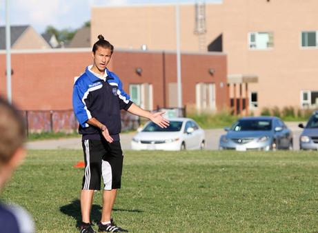 Halton Hawks FC Coach awarded Youth Coaching License