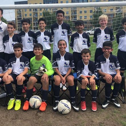 Halton Hawks FC U12 REMAIN UNDEFEATED