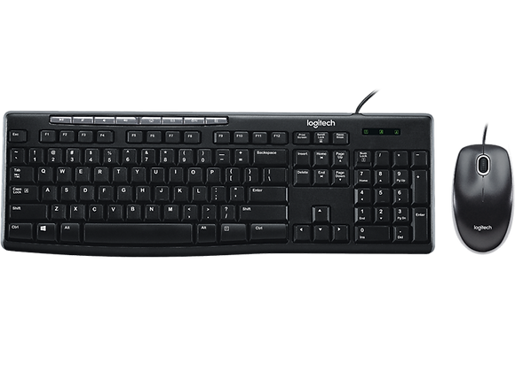LOGITECH Media Combo MK200 Wired