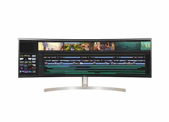 "LG 49"" 32:9 Curved UltraWide™ Dual QHD IPS Monitor w/ Dual Controls, USB Type-C™"