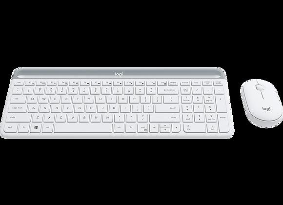 LOGITECH Slim Wireless Keyboard and Mouse Combo MK470