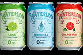 Waterloo Sparkling Water 12 packs - Multiple Flavor Options