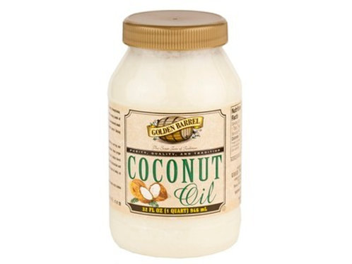 Golden Barrel Coconut Oil - 32oz