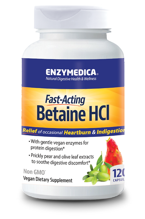 Enzymedica Betaine HCI Fast Asking - 120 cap