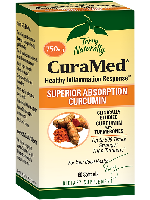 Terry Naturally CuraMed 750mg - 3 Sizes