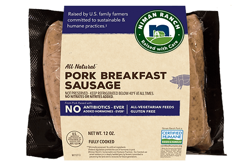 Niman Ranch Pork Breakfast Sausage