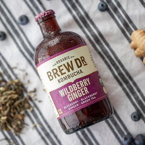 Brew Dr Organic Kombucha - 2 Flavors