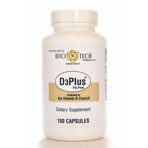 BioTech Vitamin D3 Plus - 2 Size Options