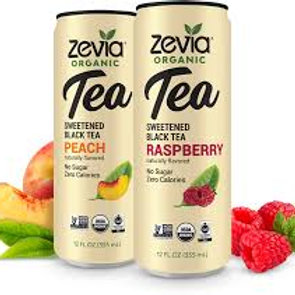 Zevia Organic Tea Cans - Multiple Flavor Options