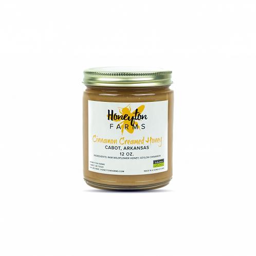 {LOCAL} Honeyton Farms Cinnamon Creamed Honey