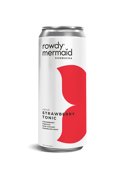 Rowdy Mermaid Strawberry Tonic