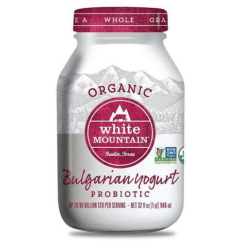 White Mountain Whole Bulgaria Yogurt 32oz