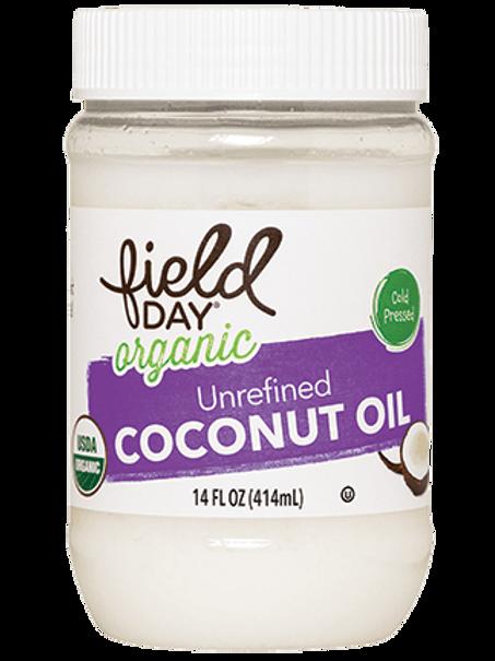 Field Day Organic Unrefined Coconut Oil