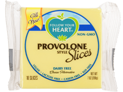 Follow Your Heart Provolone Style Slices