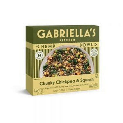 Gabriellas Kitchen Hemp Bowls - Chunky Chickpea & Squash