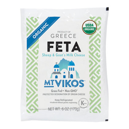 Mt Vikos Organic Feta Cheese - Grass Fed