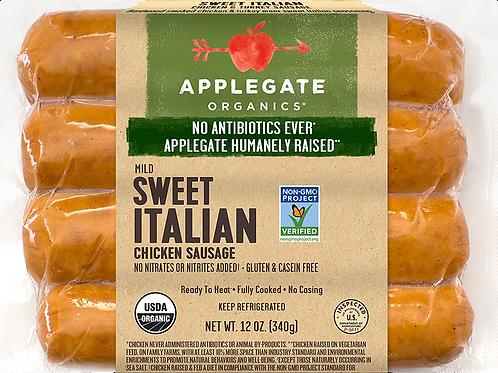 Applegate Organics Sweet Italian Chicken Sausage