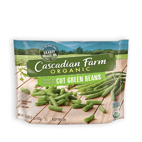 Cascadian Farms Organic Cut Green Beans