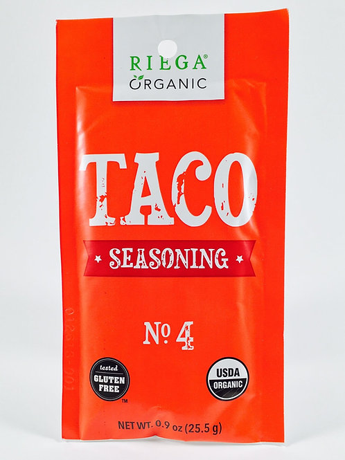 Riega Organic Taco Seasoning GF