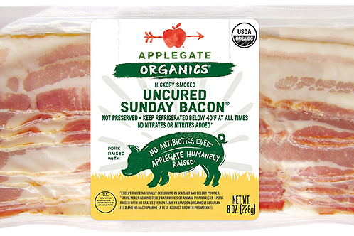 Applegate Organics Uncured Sunday Bacon Organic