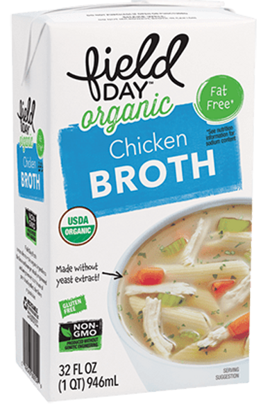 Field Day Organic Chicken Broth