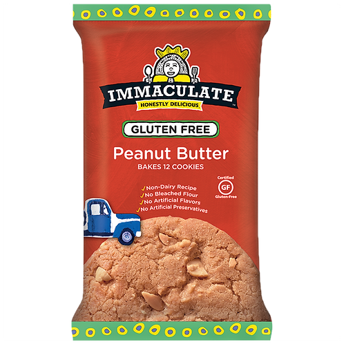 Immaculate Peanut Butter Cookie Dough - Gluten Free