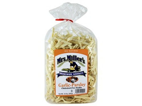 Mrs. Millers Homemade Garlic Parsley Noodles