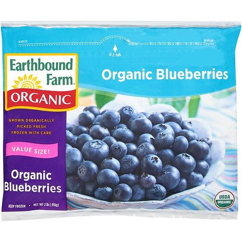 Earthbound Farms Frozen Organic Blueberries - 2lb Bag