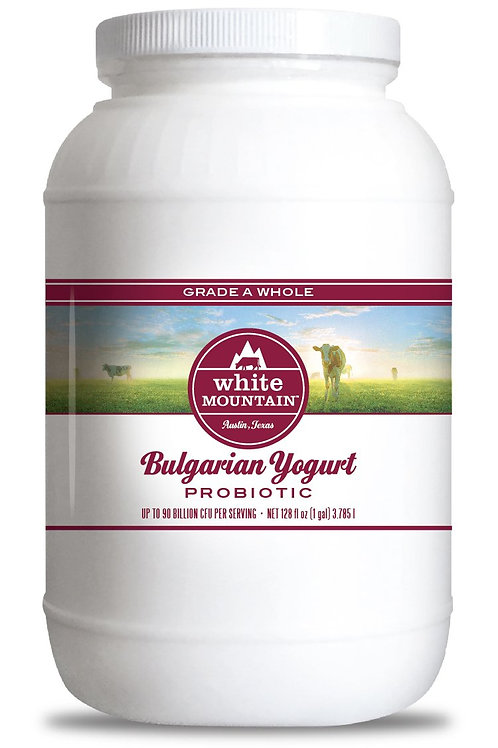 White Mountain Whole Bulgaria Yogurt Gallon