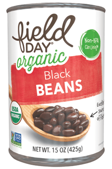 Field Day Organic Black Beans