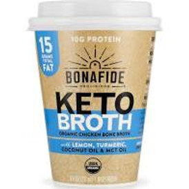 Bonafide Keto Broth Cup - Lemon, Turmeric, MCT & Coconut Oil