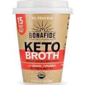 Bonafide Keto Broth Cup - Lemon, Turmeric, Butter & MCT Oil