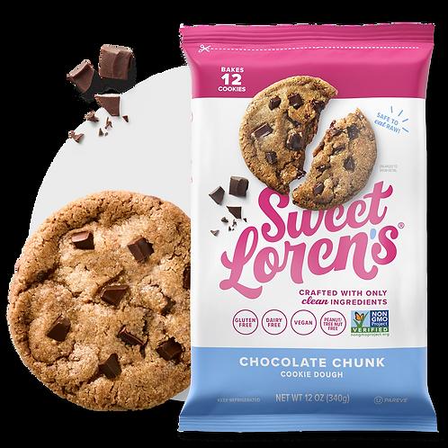 Sweet Lorens Chocolate Chunk Cookie Dough - Gluten Free