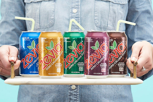 Zevia Soda 6 Pack Cans - Multiple Flavor Options