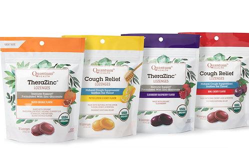 Quantum Organic Lozenges - 4 Flavor Options