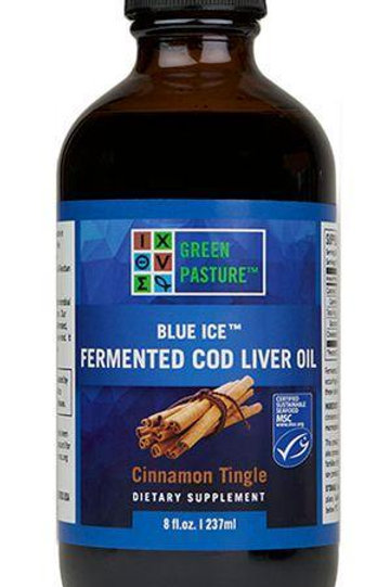 Green Pasture Cinnamon Tingle Cod Liver Oil