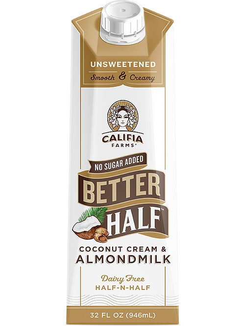 Califia Unsweetened Better Half - Dairy Free