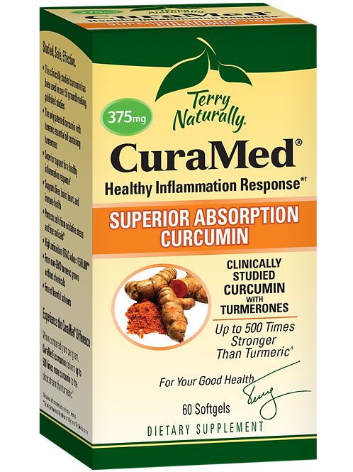 Terry Naturally CuraMed 375mg - 2 Sizes