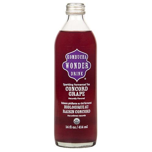 Kombucha Wonder Drink Organic Concord Grape Kombucha