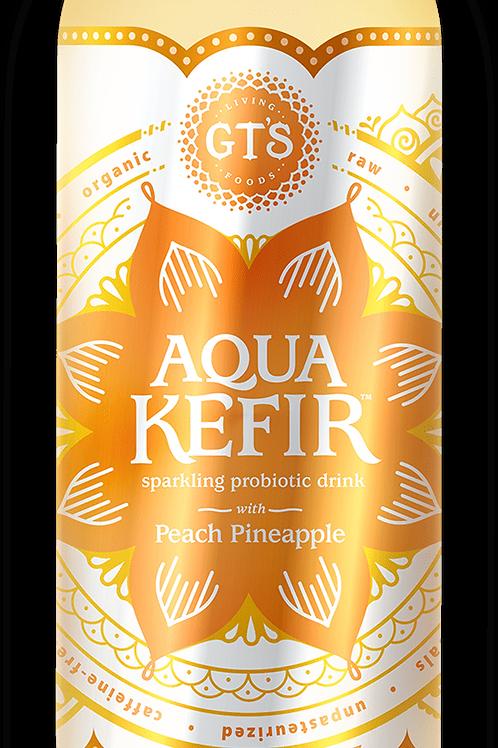 GTs Water Kefir Peach Pineapple