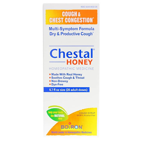 Boiron Chestal Cough & Congestion Syrups