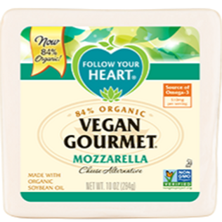 Follow Your Heart Organic Vegan Gourmet Mozzarella Cheese Alternative
