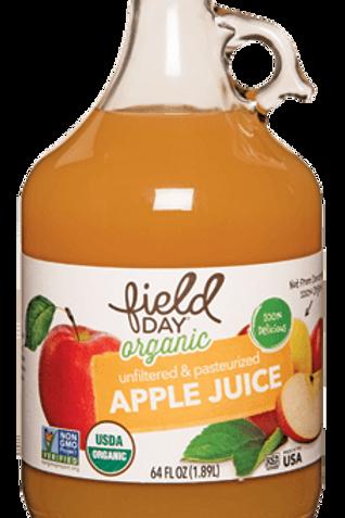 Field Day Organic Apple Juice - 64oz