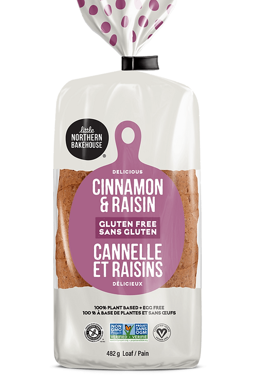 Little Northern Bakehouse Cinnamon & Raisin Bread GF