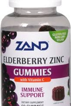 Zand Elderberry Zinc Gummies with Vitamin C